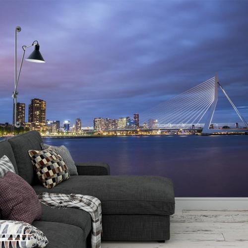 Fotobehang-Skyline-Rotterdam