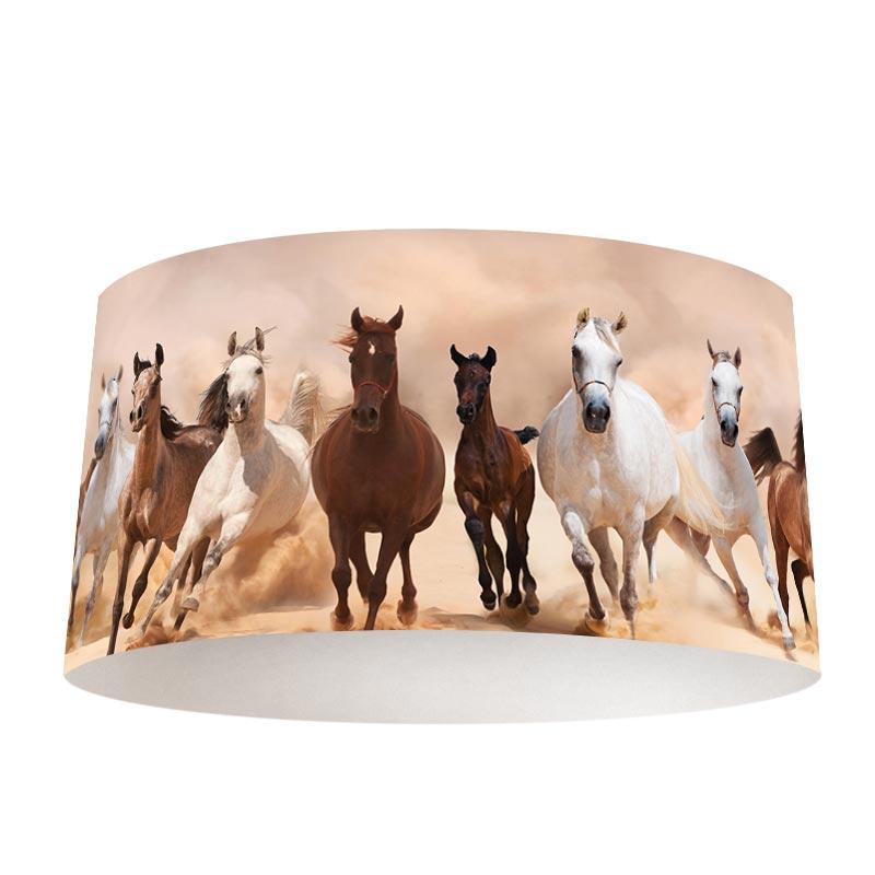 Lampenkap Paarden groep
