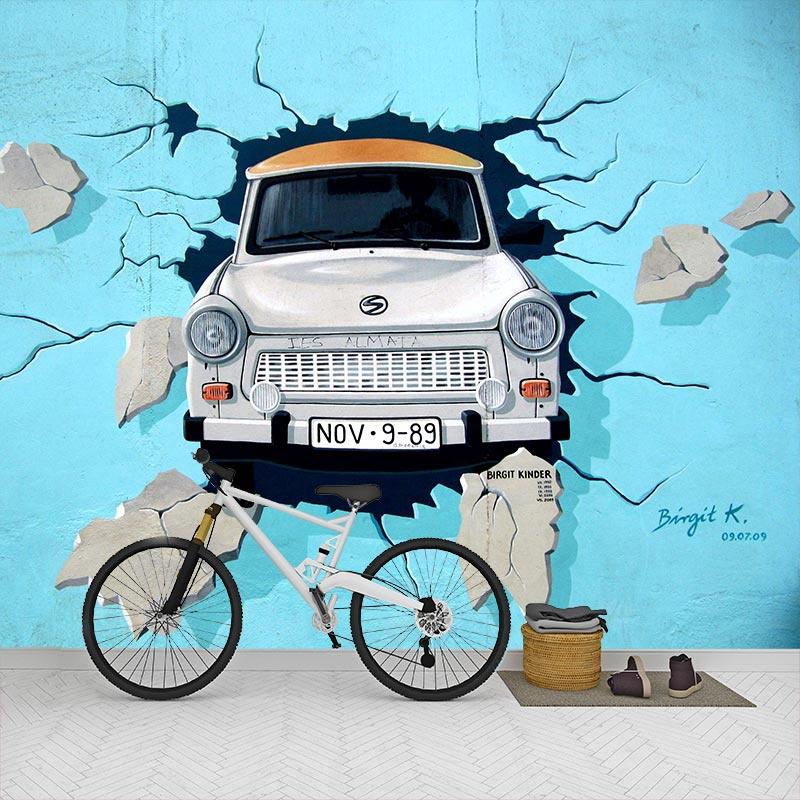 Fotobehang-Graffiti-auto