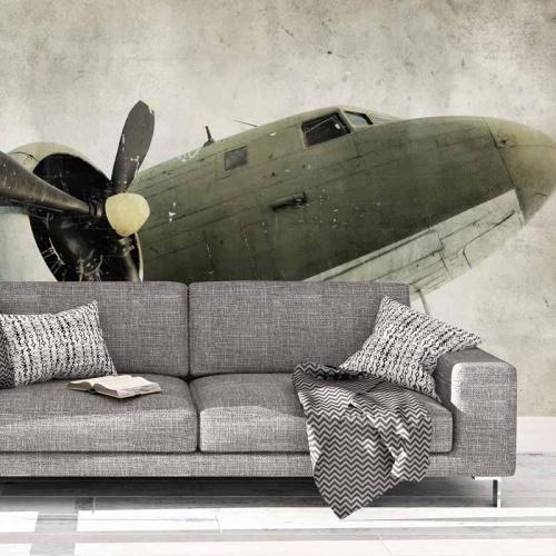 Fotobehang-Propeller-vliegtuig