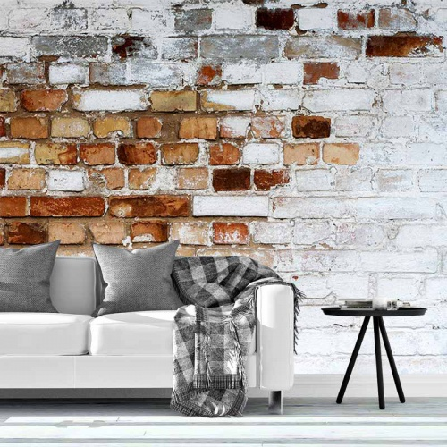 Fotobehang-bakstenen-muur-patroon