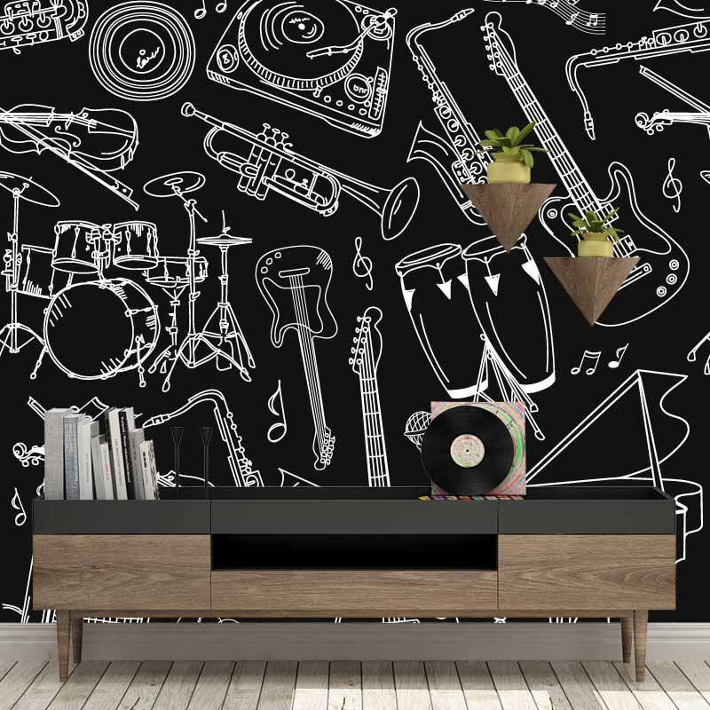 Fotobehang-Muziekinstrumenten