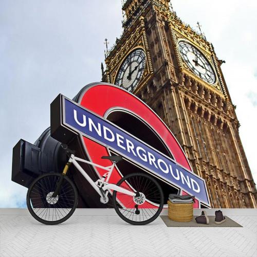 Fotobehang-_London-underground