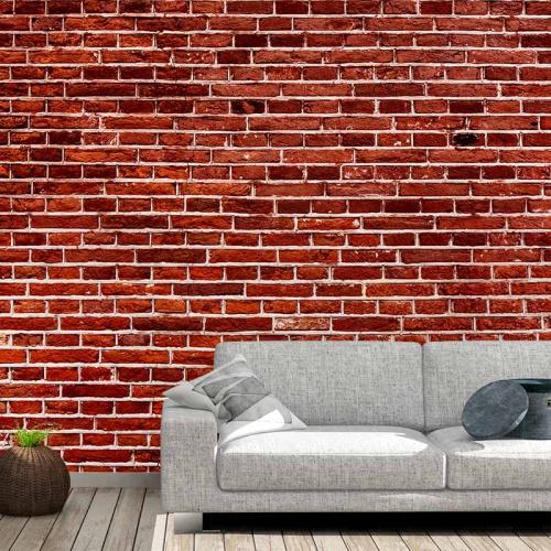 Fotobehang Bakstenen muur