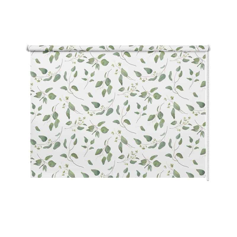 Rolgordijn Eucalyptus patroon