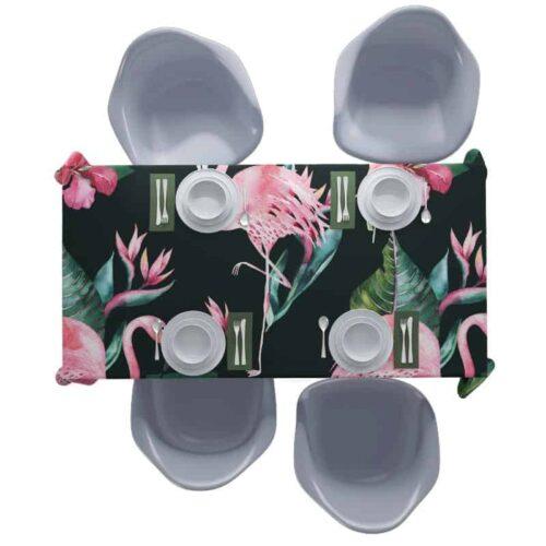 Tafelkleed Botanische jungle patroon 3