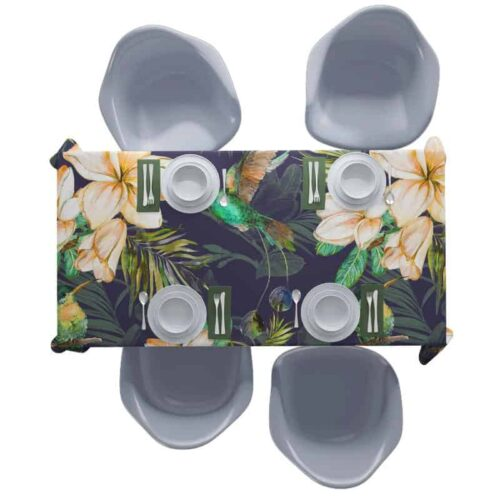 Tafelkleed Botanische jungle patroon 2
