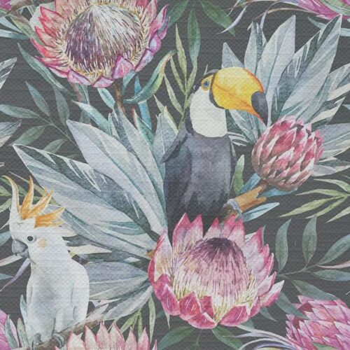 Tafelkleed Botanische jungle patroon 4