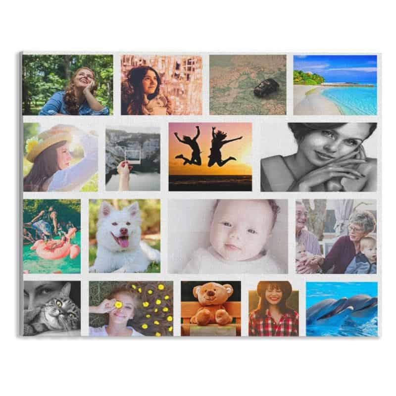 canvas eigen fotocollage