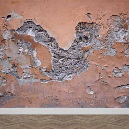 Fotobehang Gebroken pleisterwerk