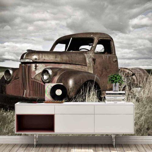 Fotobehang Vintage truck