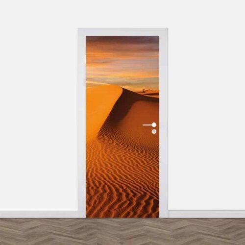 Deursticker Verlaten woestijn