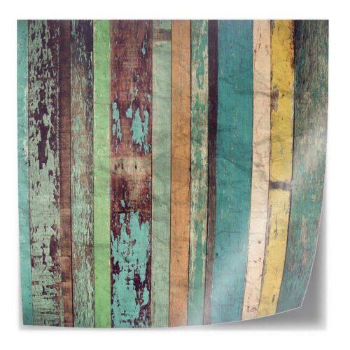 Tafelsticker Vintage houten planken