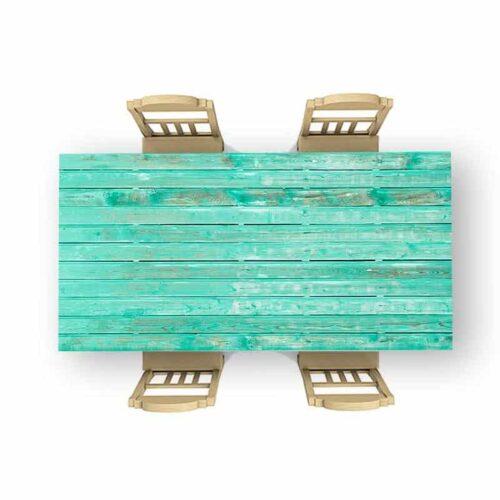 Tafelsticker Houten planken patroon 7