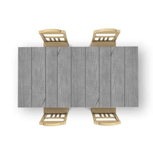 Tafelsticker Oude houten planken 3
