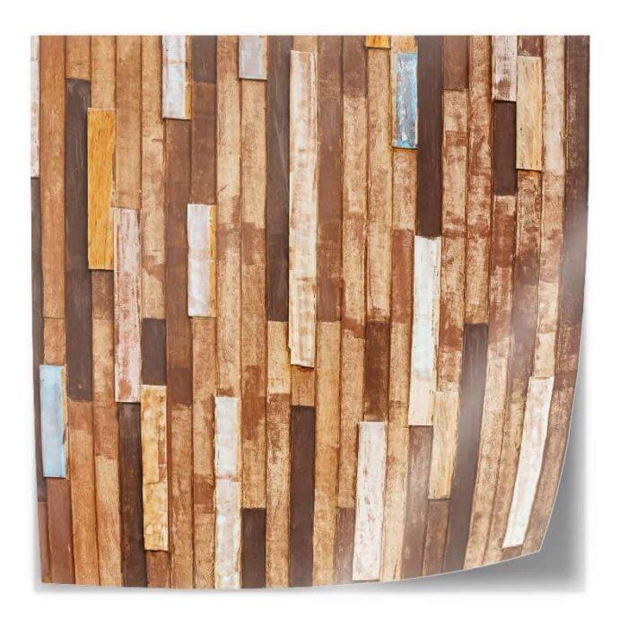 Tafelsticker houten planken I