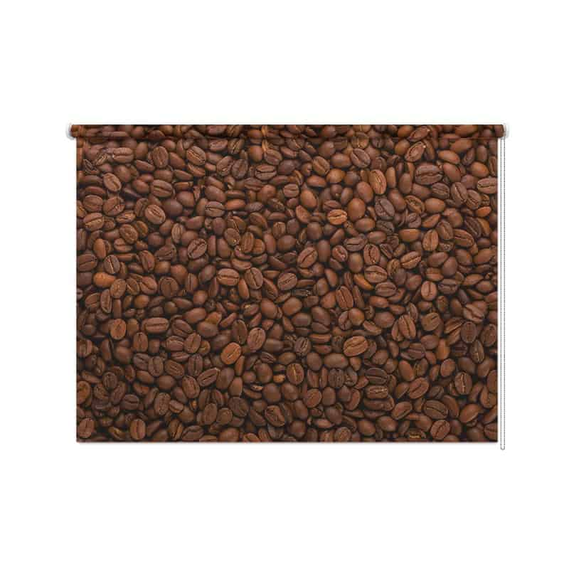 Rolgordijn Koffiebonen 2
