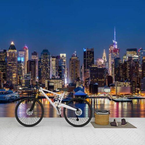 Fotobehang New York panorama