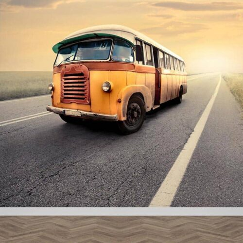 Fotobehang Bus oldtimer