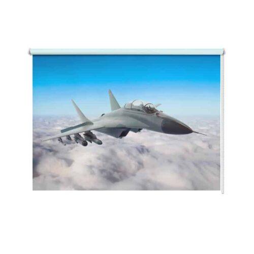 Rolgordijn straaljager