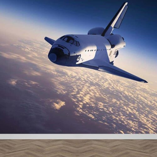 Fotobehang Space shuttle
