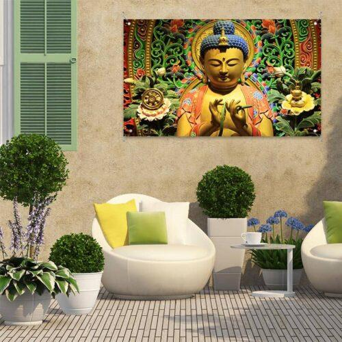 Tuinposter Boeddha Thailand