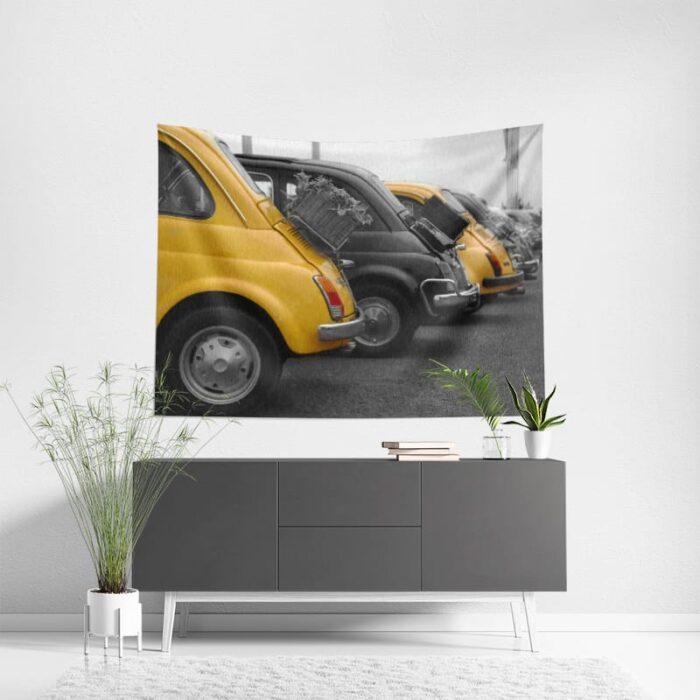 Wanddoek Fiat 500