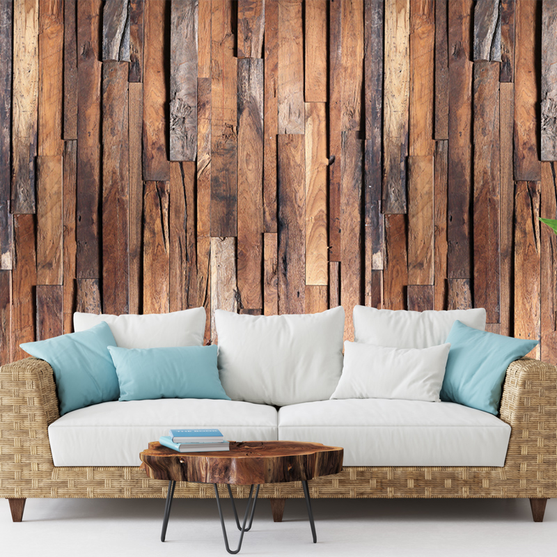 Fotobehang Rustiek hout