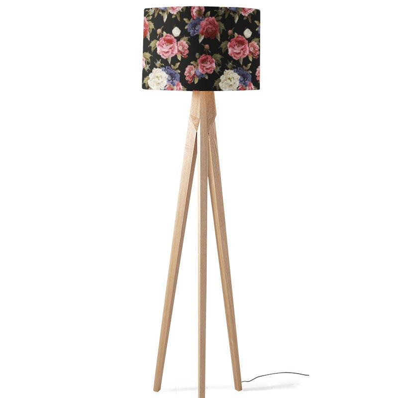 Lampenkap Botanische rozen patroon 2