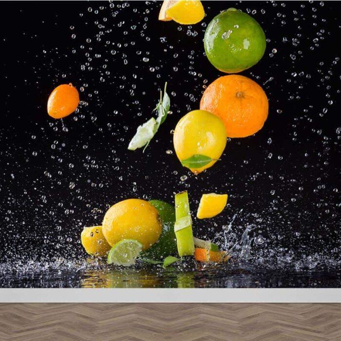 Fotobehang Citrusvruchten spektakel