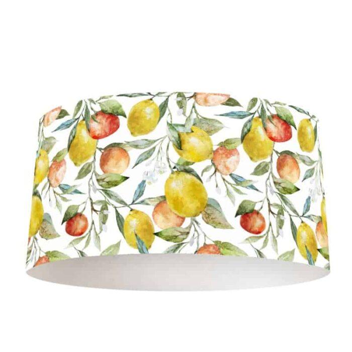 Lampenkap Citrusvruchten in aquarel