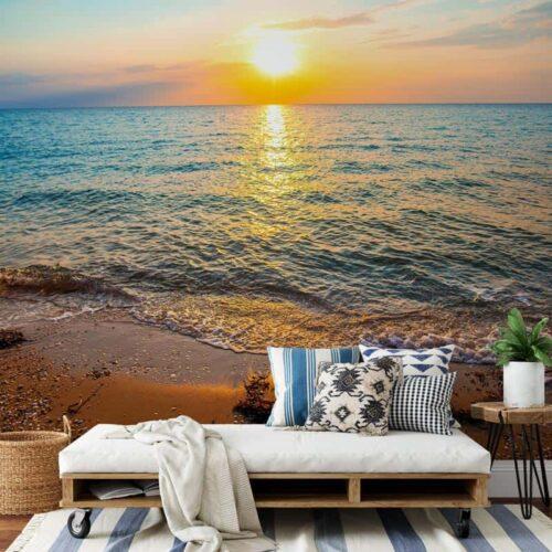 Fotobehang Relax aan het strand