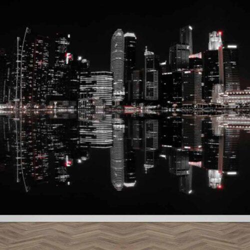 Fotobehang City nights