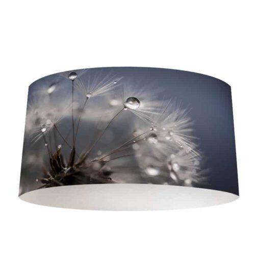 Lampenkap Dandelion met regendruppels