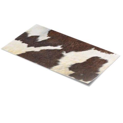 Tafelsticker Koeienhuid bruin