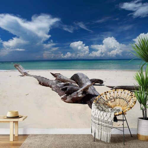 Fotobehang Dromen van tropisch strand