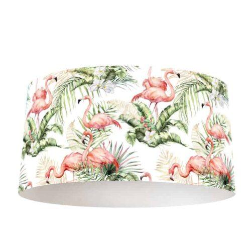 Lampenkap Flamingo jungle patroon