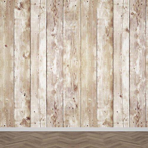 Fotobehang Houten planken patroon 8