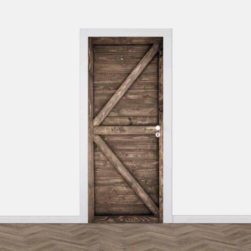 Deursticker oude staldeur 8