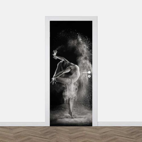 Deursticker Moderne danseres