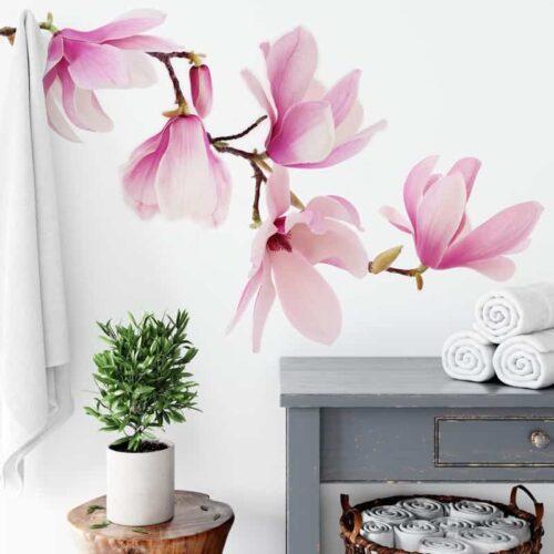 Fotobehang Magnolia tak
