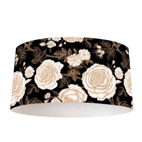 Lampenkap Vintage rozen patroon