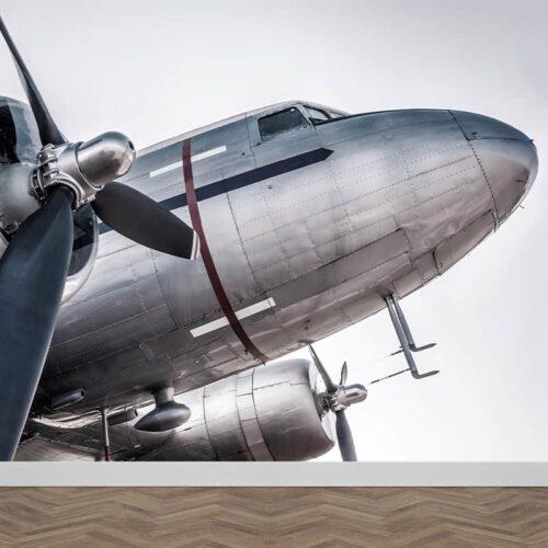Fotobehang Propeller vliegtuig dichtbij