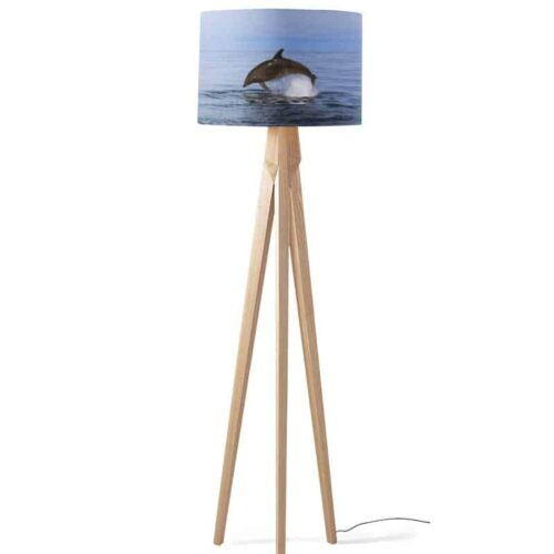 Lampenkap Springende dolfijn