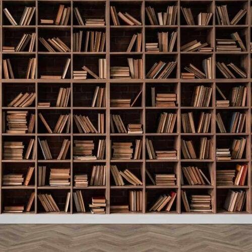 Fotobehang Boekenkast 2