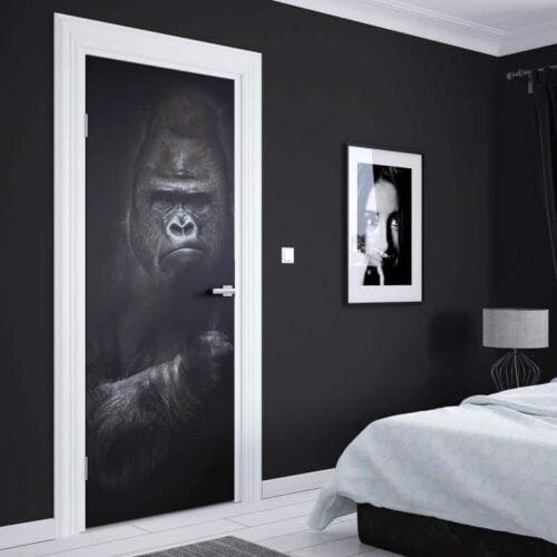 Deursticker Gorilla